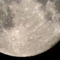 """Maan, door corona effect nu """"helder"""" te zien, geen luchtvervuiling!!."""